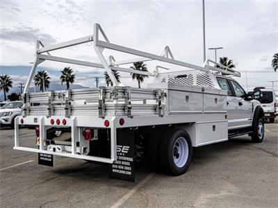 2018 F-550 Crew Cab DRW 4x2,  Scelzi CTFB Contractor Body #FJ2852 - photo 4