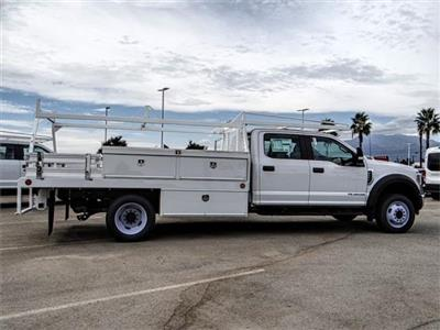 2018 F-550 Crew Cab DRW 4x2,  Scelzi CTFB Contractor Body #FJ2852 - photo 5