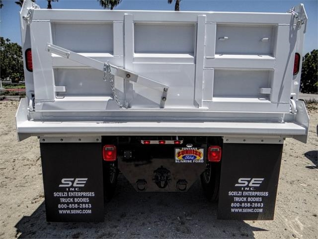 2018 F-650 Regular Cab DRW 4x2,  Scelzi Dump Body #FJ2889 - photo 9