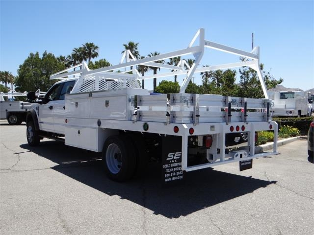 2018 F-450 Crew Cab DRW 4x2,  Scelzi Contractor Flatbed Contractor Body #FJ2944 - photo 2