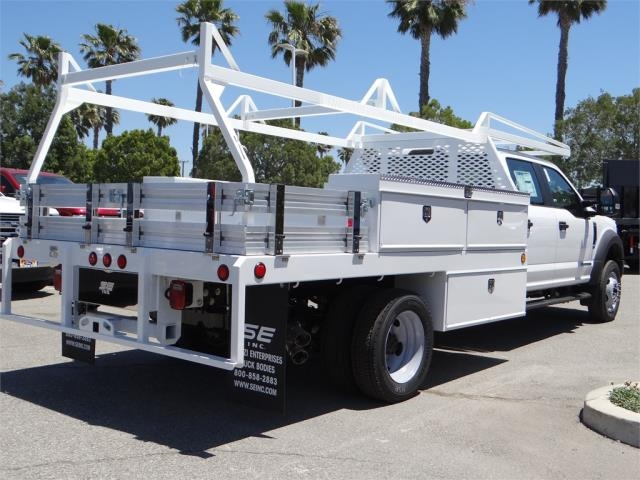 2018 F-450 Crew Cab DRW 4x2,  Scelzi Contractor Body #FJ2944 - photo 4
