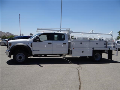 2018 F-450 Crew Cab DRW 4x2,  Scelzi Contractor Flatbed Contractor Body #FJ2944 - photo 3