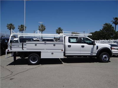 2018 F-450 Crew Cab DRW 4x2,  Scelzi Contractor Flatbed Contractor Body #FJ2944 - photo 5