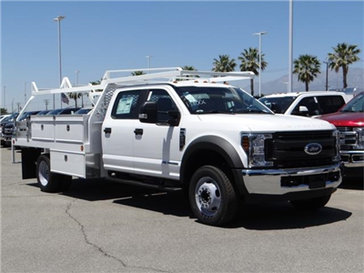 2018 F-450 Crew Cab DRW 4x2,  Scelzi Contractor Flatbed Contractor Body #FJ2944 - photo 6