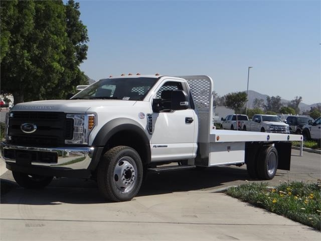 2018 F-550 Regular Cab DRW,  Scelzi Western Flatbed #FJ2958 - photo 1