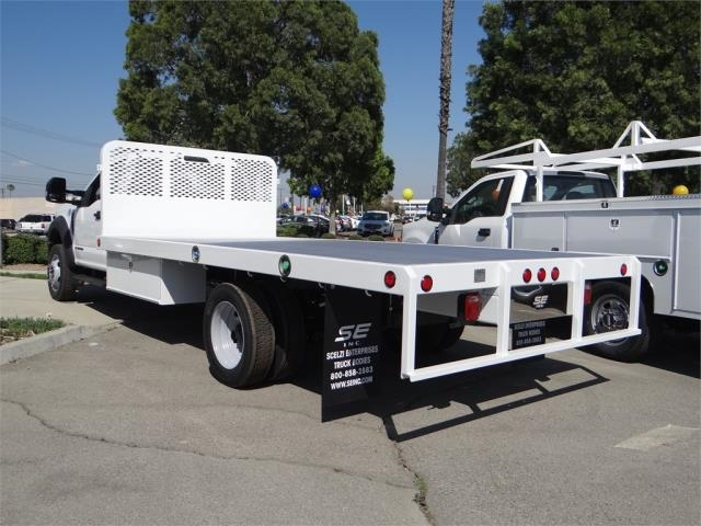 2018 F-550 Regular Cab DRW,  Scelzi Western Flatbed #FJ2958 - photo 2