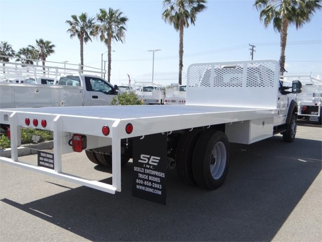 2018 F-550 Regular Cab DRW,  Scelzi Western Flatbed #FJ2958 - photo 4