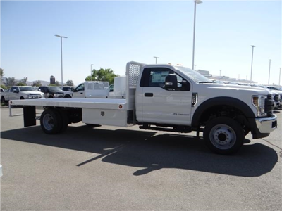 2018 F-550 Regular Cab DRW,  Scelzi Western Flatbed #FJ2958 - photo 5