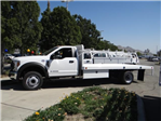 2018 F-550 Regular Cab DRW,  Scelzi Western Flatbed #FJ2958 - photo 3