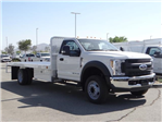 2018 F-550 Regular Cab DRW,  Scelzi Western Flatbed #FJ2958 - photo 6