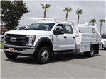 2018 F-450 Crew Cab DRW 4x2,  Scelzi Contractor Body #FJ2987 - photo 1