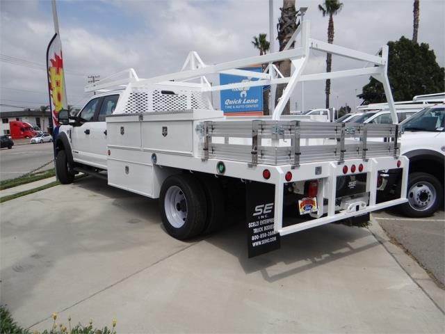 2018 F-450 Crew Cab DRW 4x2,  Scelzi Contractor Body #FJ2999 - photo 2