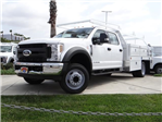 2018 F-450 Crew Cab DRW 4x2,  Scelzi Contractor Body #FJ2999 - photo 1