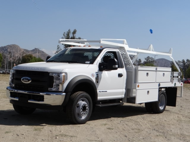 2018 F-450 Regular Cab DRW 4x2,  Scelzi Contractor Body #FJ3173 - photo 10