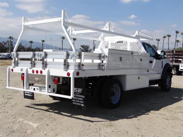 2018 F-450 Regular Cab DRW 4x2,  Scelzi CTFB Contractor Body #FJ3173 - photo 4