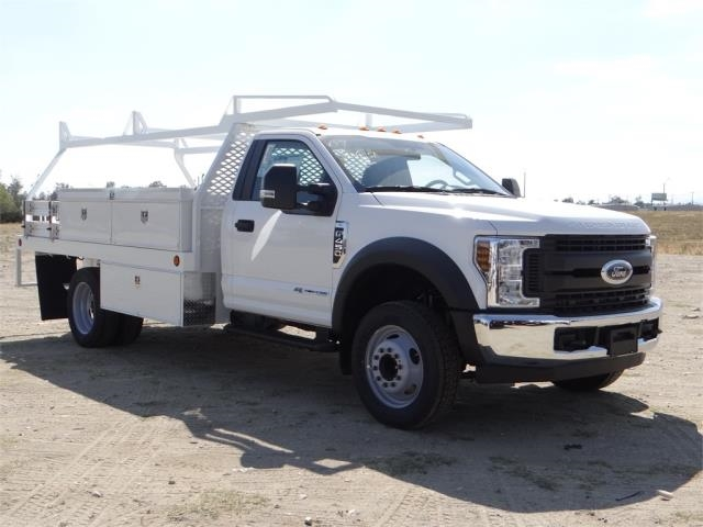 2018 F-450 Regular Cab DRW 4x2,  Scelzi CTFB Contractor Body #FJ3173 - photo 6