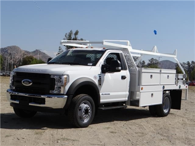 2018 F-450 Regular Cab DRW 4x2,  Scelzi CTFB Contractor Body #FJ3173 - photo 1