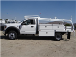 2018 F-450 Regular Cab DRW 4x2,  Scelzi CTFB Contractor Body #FJ3173 - photo 3