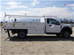 2018 F-450 Regular Cab DRW 4x2,  Scelzi CTFB Contractor Body #FJ3173 - photo 5