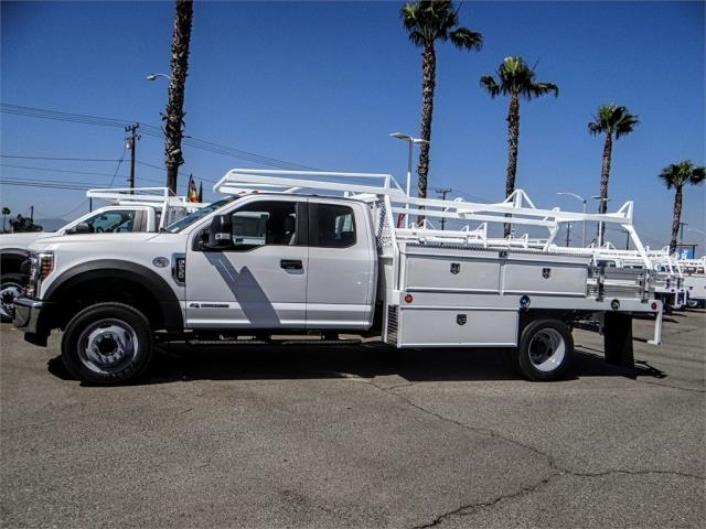2018 F-550 Super Cab DRW 4x2,  Scelzi Contractor Body #FJ3205 - photo 3