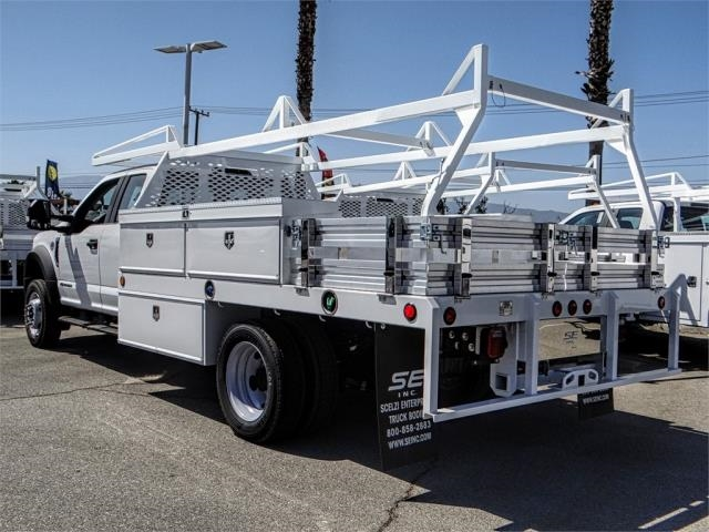 2018 F-550 Super Cab DRW 4x2,  Scelzi Contractor Body #FJ3205 - photo 2