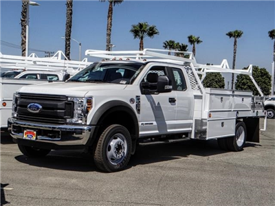 2018 F-550 Super Cab DRW 4x2,  Scelzi CTFB Contractor Body #FJ3205 - photo 1