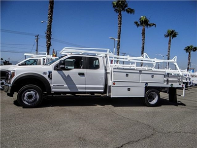 2018 F-550 Super Cab DRW 4x2,  Scelzi CTFB Contractor Body #FJ3205 - photo 3