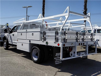 2018 F-550 Super Cab DRW 4x2,  Scelzi CTFB Contractor Body #FJ3205 - photo 2