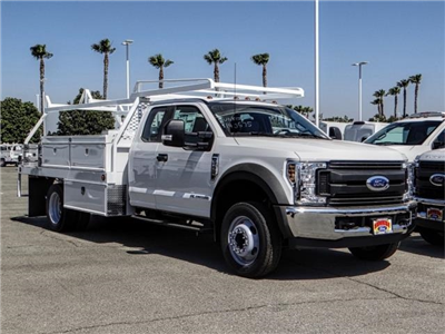 2018 F-550 Super Cab DRW 4x2,  Scelzi CTFB Contractor Body #FJ3205 - photo 6