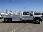 2018 F-550 Super Cab DRW 4x2,  Scelzi CTFB Contractor Body #FJ3205 - photo 5