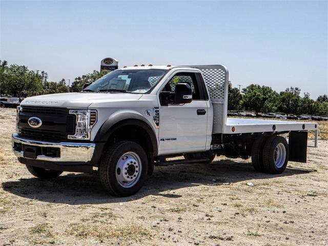 2018 F-550 Regular Cab DRW,  Scelzi Western Flatbed #FJ3224 - photo 1