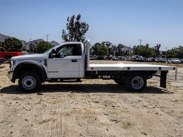 2018 F-550 Regular Cab DRW 4x2,  Scelzi Flatbed #FJ3224 - photo 3