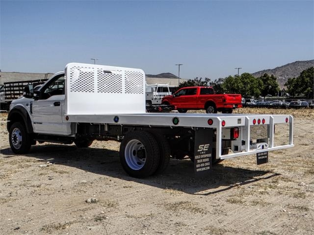 2018 F-550 Regular Cab DRW 4x2,  Scelzi Flatbed #FJ3224 - photo 2