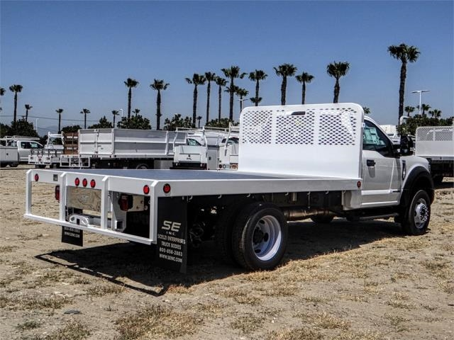 2018 F-550 Regular Cab DRW 4x2,  Scelzi Flatbed #FJ3224 - photo 4
