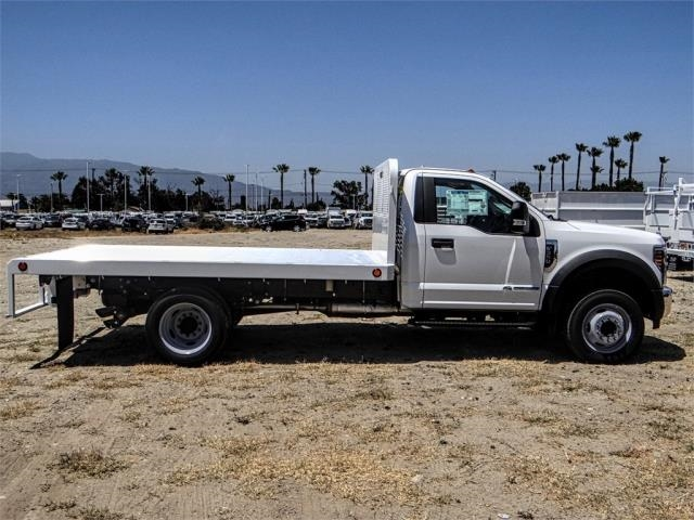 2018 F-550 Regular Cab DRW 4x2,  Scelzi Flatbed #FJ3224 - photo 5