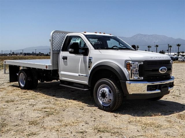 2018 F-550 Regular Cab DRW 4x2,  Scelzi Flatbed #FJ3224 - photo 6