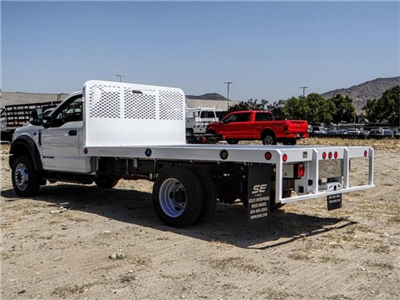 2018 F-550 Regular Cab DRW,  Scelzi Western Flatbed #FJ3224 - photo 2
