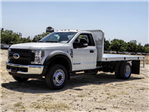 2018 F-550 Regular Cab DRW 4x2,  Scelzi Flatbed #FJ3224 - photo 1