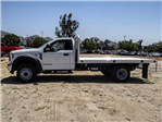 2018 F-550 Regular Cab DRW,  Scelzi Western Flatbed #FJ3224 - photo 3