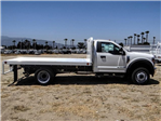 2018 F-550 Regular Cab DRW,  Scelzi Western Flatbed #FJ3224 - photo 5