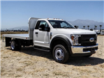 2018 F-550 Regular Cab DRW,  Scelzi Western Flatbed #FJ3224 - photo 6