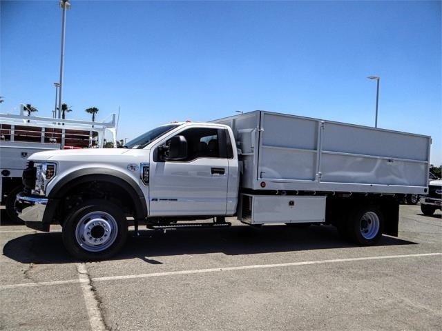2018 F-550 Regular Cab DRW 4x2,  Scelzi Landscape Dump #FJ3247 - photo 3