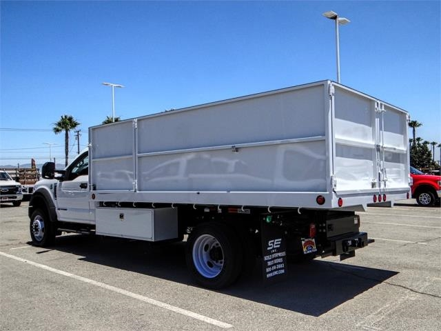 2018 F-550 Regular Cab DRW 4x2,  Scelzi Landscape Dump #FJ3247 - photo 2