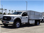 2018 F-550 Regular Cab DRW 4x2,  Scelzi Landscape Dump #FJ3247 - photo 1