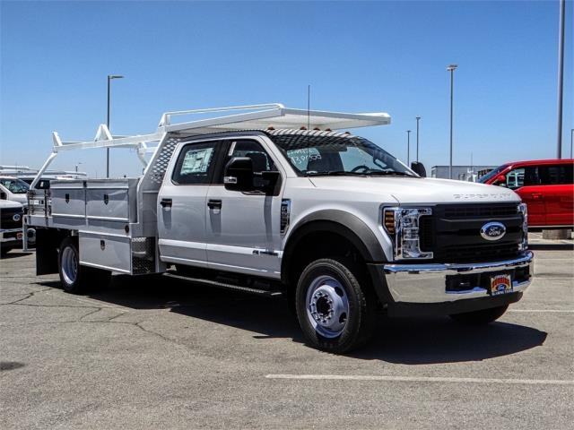 2018 F-550 Crew Cab DRW 4x2,  Scelzi Contractor Body #FJ3406 - photo 6