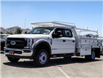 2018 F-550 Crew Cab DRW 4x2,  Scelzi Contractor Body #FJ3406 - photo 1