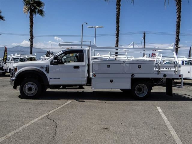 2018 F-450 Regular Cab DRW 4x2,  Scelzi Contractor Body #FJ3407 - photo 3