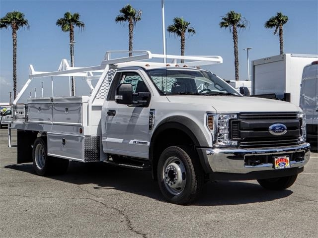 2018 F-450 Regular Cab DRW 4x2,  Scelzi Contractor Body #FJ3407 - photo 6