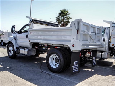 2018 F-650 Regular Cab DRW 4x2,  Scelzi Dump Body #FJ3425 - photo 2