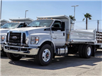 2018 F-750 Regular Cab DRW 4x2,  Scelzi Dump Body #FJ3454 - photo 1